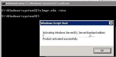 activate kms server for 2012 r2
