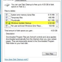 delete old updates in windows 7