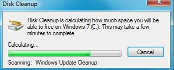 windows update cleanup windows7
