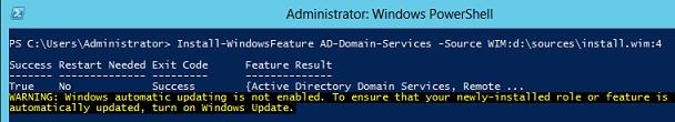 restore deleted windows server roles with posh
