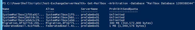 Get System Mailbox Exchange 2010 / 2013