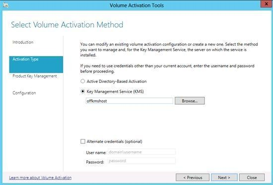 instal kms server for office 2013