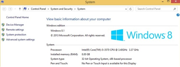 more than 4 gb of memory on windows 8 (x86)