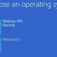 windows 8.1 PAE mode