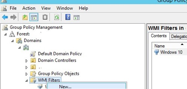 Restricting Group Policy with WMI Filtering | Windows OS Hub