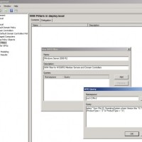 create group policy object with wmi filter