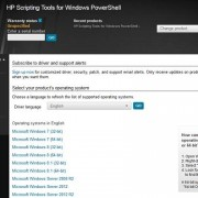 manage hp ilo cards with powershell