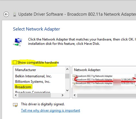 network adapter windows 10 compatible
