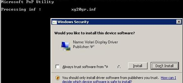 install self-signed driver in windows 7 x64