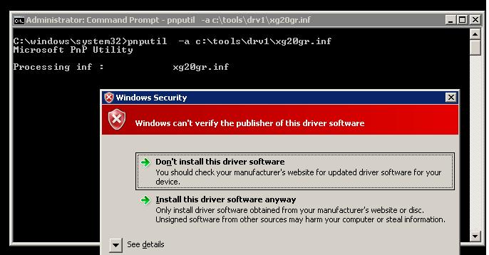 How to Sign an Unsigned Driver for x64 Windows 10, 8 1 or 7 with a