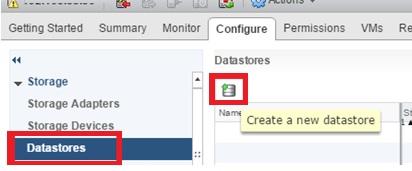 esxi add an existing vmfs datastore to a new host