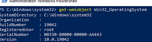 test wmi using powershell cmdlet get-wmiobject