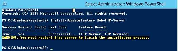 Configuring an FTP Server with User Isolation on Windows Server 2016