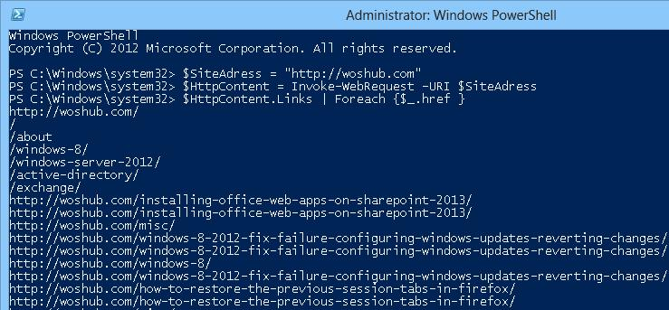 Invoke-WebRequest in Powershell 3.0