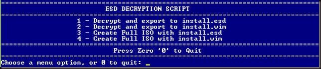 esd decryption script
