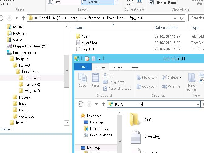 Configuring an FTP Server with User Isolation on Windows