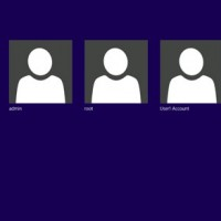 Windows 8 show users accounts on Welcome screen