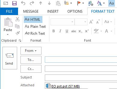 How to Increase Maximum Attachment Size Limit in Outlook | Windows ...