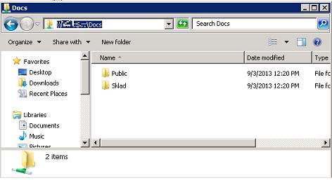 Access based Enumeration on Windows Server share
