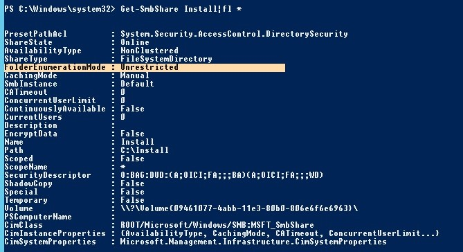 How to Enable Access-Based Enumeration (ABE) on Windows