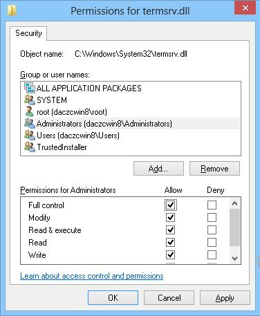 Enable Multiple Concurrent RDP Sessions in Windows 8 1 /8 | Windows