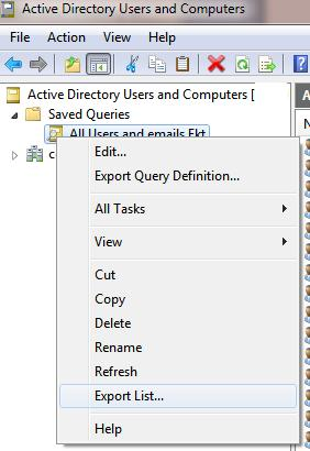 Export result in csv or txt file
