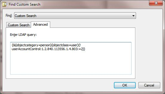 Advanced LDAP query