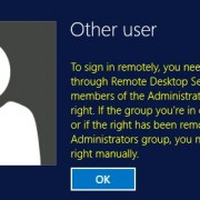 you need remote desktop services rights