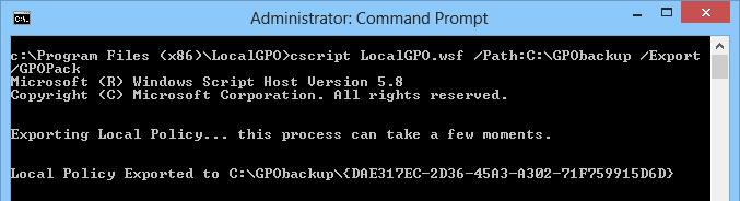 Create GPOPack for deploy