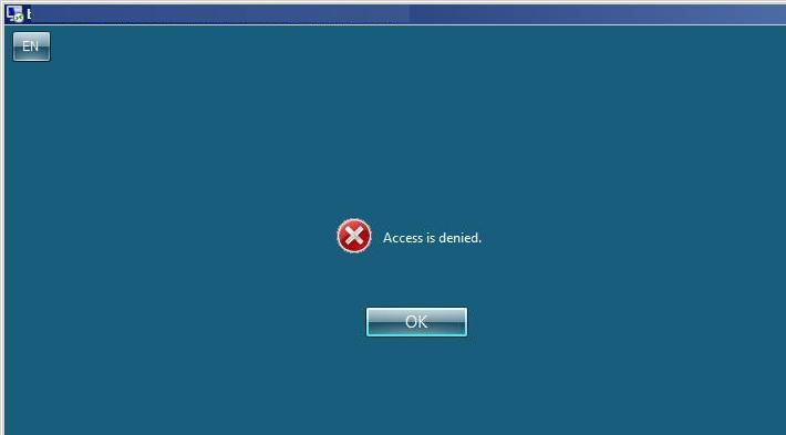 "RDS Kerberos error ""Access is denied"""