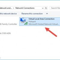new hotspot connection win10