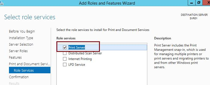 Windows Server 201 2R2 Print Server
