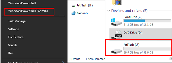 How to create a backup with system image tool on Windows 10?