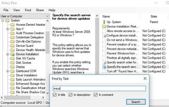 policy plus GPO editor in windows 10 home edition