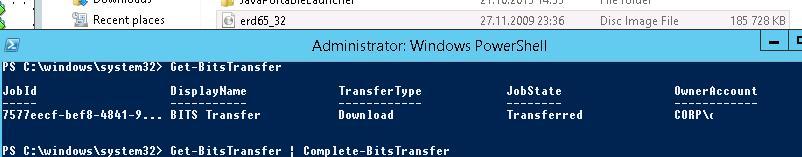 Complete-BitsTransfer