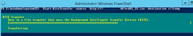 Start-BitsTransfer source