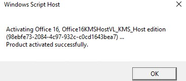activating office16kmsostv_kms_host_editionl