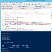 recursively download folder using bits and powershell