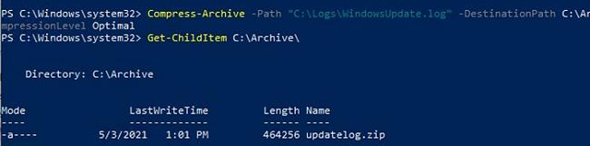 How to Zip/Unzip files or folders using PowerShell?