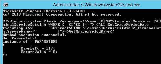wmic-Win32_TerminalServiceSetting-GetGracePeriodDays