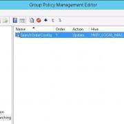 GPO registry update item