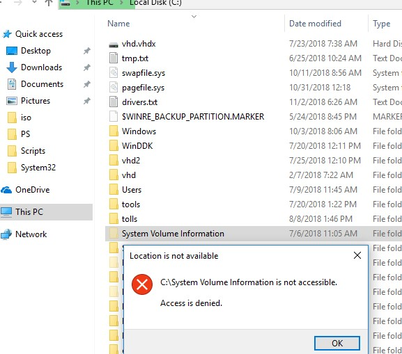 "How to Clean Up ""System Volume Information"" Folder 