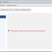 Performance Charts service returned an invalid response