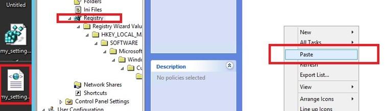 import reg file to deploy via gpo