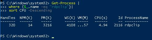 powershell multiline