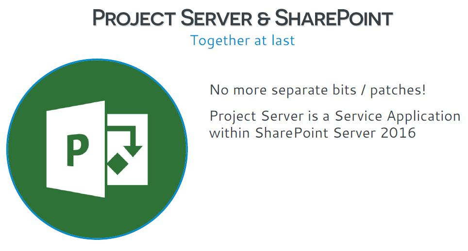 project server and sharepoint
