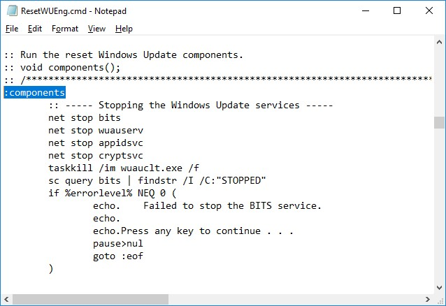 Resetting Windows Update Agent Settings | Windows OS Hub