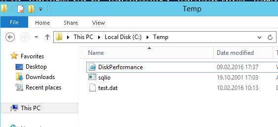 disk perfomance iops powershell script