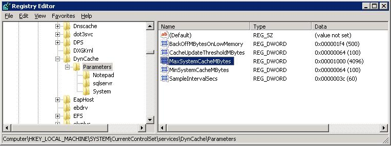Fixing High Memory Usage by Metafile on Windows Server 2008